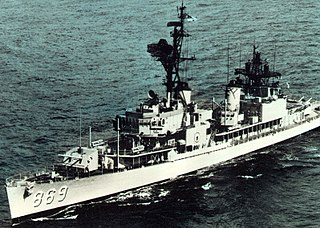 USS <i>Arnold J. Isbell</i> Gearing-class destroyer