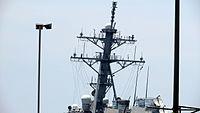 USS Hamilton - Mast