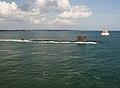 USS North Dakota (SSN-784) underway during trials in August 2014.JPG