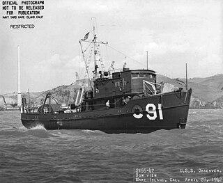USS <i>Observer</i> (AMc-91)