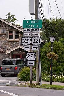 U S Route 321 Wikipedia