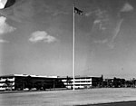 US Air Force 330-PS-2355-1 Hickam Air Force Base barracks ten years after Pearl Harbor.jpg