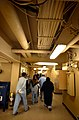 US Navy 030423-N-6967M-054 Patients walk the wide halls of the hospital ship USNS Comfort (T-AH 20) for a break to get some fresh air.jpg