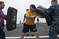 US Navy 110816-N-PB383-348 A Sailor defends herself against a simulated attacker.jpg