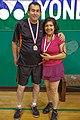 US Senior International Badminton Tourney (Miami) - Manuel & Dora (16648355061).jpg