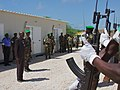Ugandan AMISOM Guard of Honour for Burundi Defence Minister (6243485136).jpg