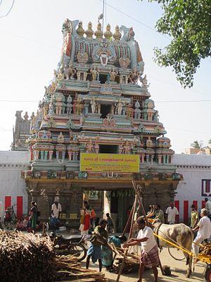 Ulagalantha Perumal Temple, Kanchipuram - Image: Ulagalantha perumal Kanchipuram 4