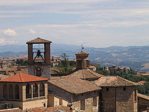 Perugia - View of other hills around Perugia