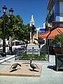 Un monumento hecho con ocasión del establecimiento de la constitución española, Almonte, España.jpg