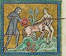 Unicorn hunt - British Library Royal 12 F xiii f10v (detail).jpg
