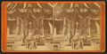 Unidentified interior showing draped fabric and floral arrangements, including a floral cross, by Rand & Latto.png