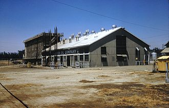 Unocal Corporation - Cracking plant in Orange County, California, 1961.