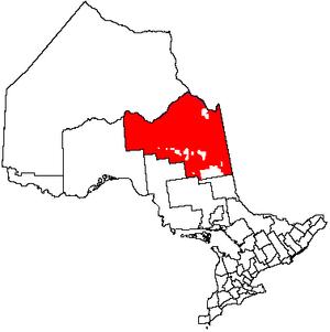 Unorganized North Cochrane District - Image: Unorg North Cochrane