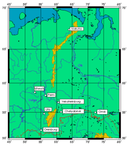 Ural Mountains - Wikipedia