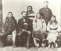 Ute delegation