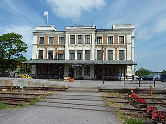 Västervik Municipality - Västervik Railway Station