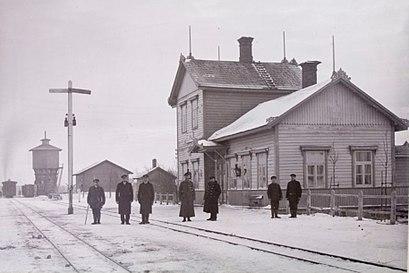 Kuidas ühistranspordiga sihtpunkti Võhma raudteejaam jõuda - kohast