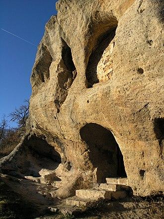 Acisclus - Chapel of Saints Acisclo and Victoria, in Arroyuelos (Valderredible, Spain). Cave church.