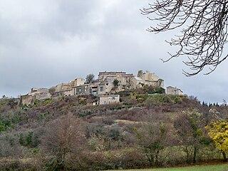 Vachères Commune in Provence-Alpes-Côte dAzur, France