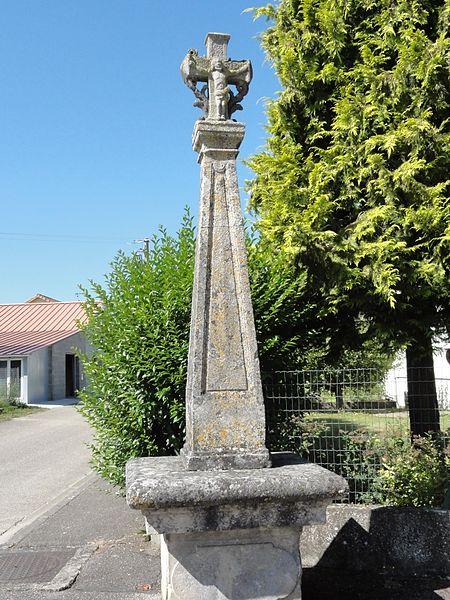 Vadonville (Meuse) croix de chemin