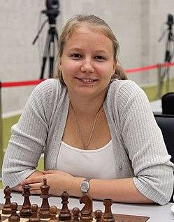 Valentina Gunina Russian chess player