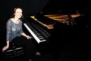 Valentina Igoshina - Valentina Igoshina at the piano