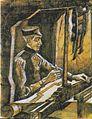 Van Gogh - Weber am Webstuhl - (Profil nach rechts)2.jpeg