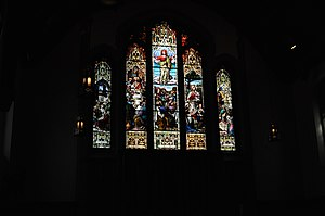 Christ Church Cathedral (Vancouver) - Image: Vancouver Christ Church Cathedral stained glass 02