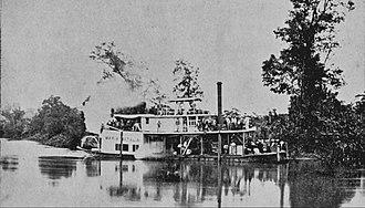 Panzós - Image: Vaporferrocarrilvera paz 1898