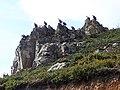 Vautours sur des rochers près d'Urepel.jpg