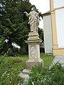 Velká Bystřice, socha sv. Bartoloměje.JPG