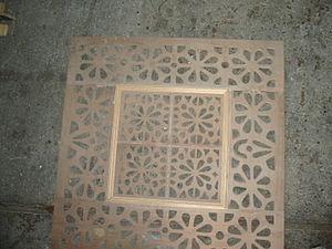 Fretwork - Image: Ventilation grille