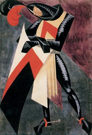 Vera Mukhina - Theatrical costume design (1916)