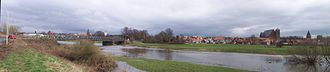 Aller (Germany) - Floods on the Old Aller near Verden
