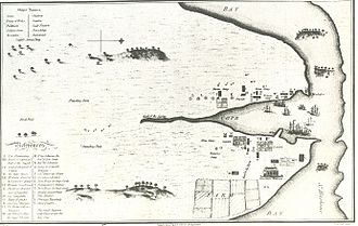 Paddington, New South Wales - Very early map of First Fleet settlement at Sydney drawn by a transported convict c.1789