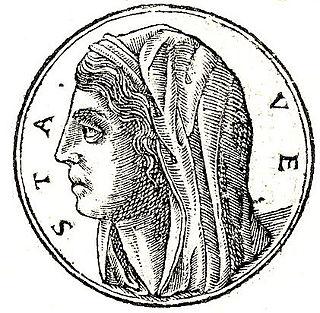 Vesta (mythology) Ancient Roman goddess of the hearth, home, and family