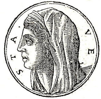 Vesta (mythology) - Image: Vesta Roma