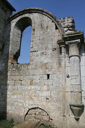 Morimond Abbey - Ruins of the church at Morimond Abbey
