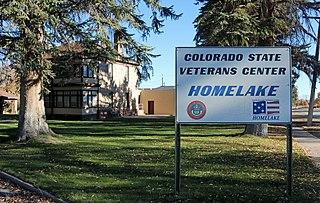 Homelake, Colorado Unincorporated community in Colorado, United States