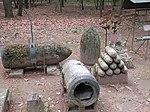 Via Gaggio - resti di bombe in cemento.jpg