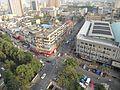 View from 15th Floor, International Hotel Xiaoshan Hangzhou, Zhejiang, China, July 1, 2010 - panoramio.jpg