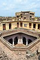 View into the courtyard from roof of Bedi Mahal 02.jpg