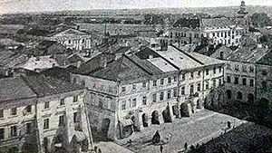 History of Zamość - View of the Old Town