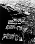 View of the reserve fleet laid up at Naval Station San Diego, in the 1960s (NH 85108).jpg