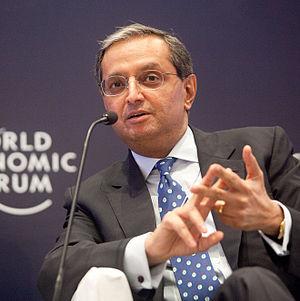 Vikram Pandit - Pandit at the World Economic Forum in 2011.