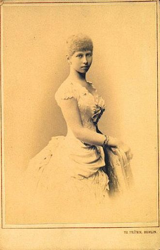 Princess Viktoria of Prussia - An official portrait of Princess Viktoria of Prussia.