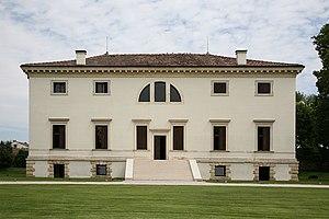 Villa Pisani, Bagnolo - Rear facade.