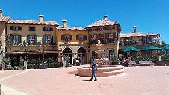 PortAventura World - Italian village, Ferrari Land.