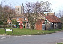 Village scene, Gazeley - geograph.org.uk - 623085.jpg