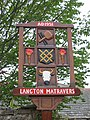Village sign, Langton Matravers - geograph.org.uk - 1408164.jpg